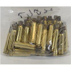 50 Pieces of 7x57 Brass