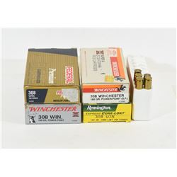 Mixed Lot of 308 Winchester Ammunition