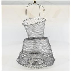 Galvanized Minnow Basket