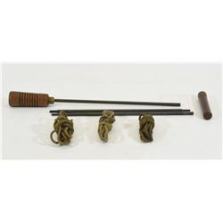 Vintage Military Cleaning Rod and Pull-Throughs