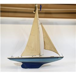 Wind Powered Sailboat