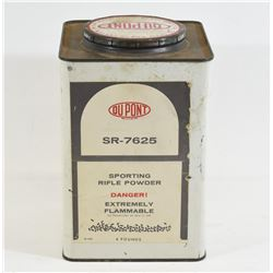 Approximately 4lb of Dupont SR-7625