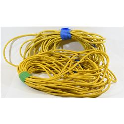 Two 100' Heavy Duty Extension Cords