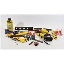 Box Lot Assorted Tools