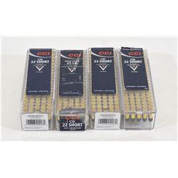Lot of CCI 22 Short CB Ammunition