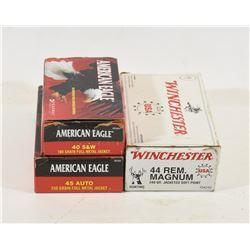 Mixed Lot Handgun Cartridges