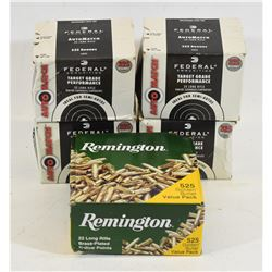 Mixed Lot 22 LR Ammunition