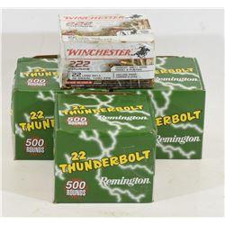 Mixed Lot 22LR Ammunition