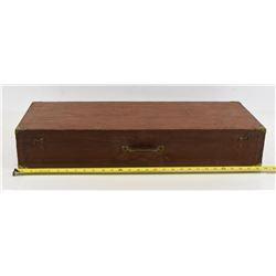 """Wooden Gun Case 29"""" x 11 x  5"""""""