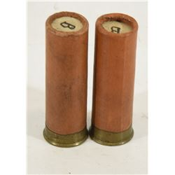 2 Rounds 12ga Eleys Grand Prix Collectable Ammo