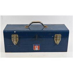 Blue Mastercraft Tool Box