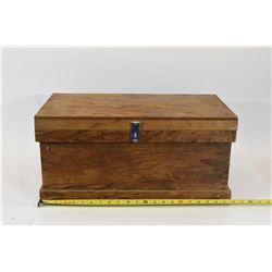 Wood Ammunition Crate 3 Padlocks w/ Keys