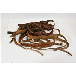 Lot of 9 Leather Slings