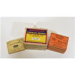 Vintage Primers in Sealed Boxes