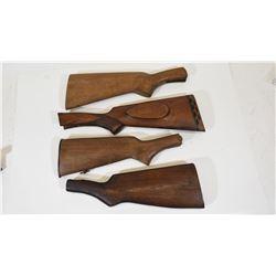 4 Wooden Butt Stocks