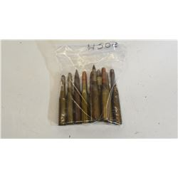 10 Collectible Metric Rifle Cartridges