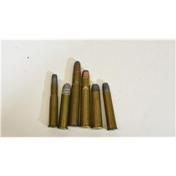 Collectible Rimmed Rifle Cartridges