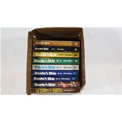 Box Lot 8 Shooter's Bible's 1 Complete Shooter