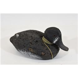 Antique Ring Necked Duck Decoy