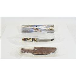 Eagle Feather Bowie Knife