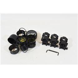 Scope Rings & Lens Covers