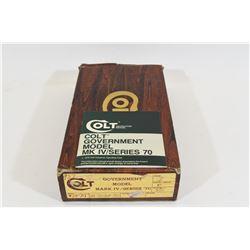 Colt Gov't Mod IV Series Box