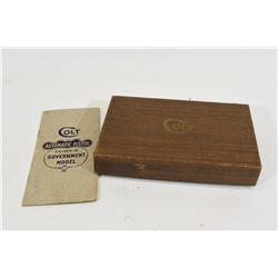 Colt Automatic Pistol Box