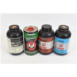 Mixed Lot Hodgdon Powders