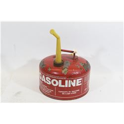 2-1/2 Gallon Steel Gas Can