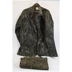 Camouflage Coat and Pants