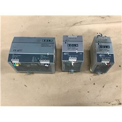 LOT OF SOLA  POWER SUPPLY *SEE PHOTOS FOR PART NUMBERS*