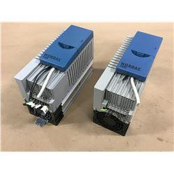 (2) NORDAC SK 520E-401-340-A-KAR DRIVE