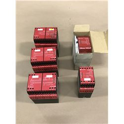 LOT OF TELEMECANIQUE SAFETY RELAY *PART #'S PICTURED*