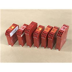 LOT OF ELAN SAFETY RELAY *PART #'S PICTURED*