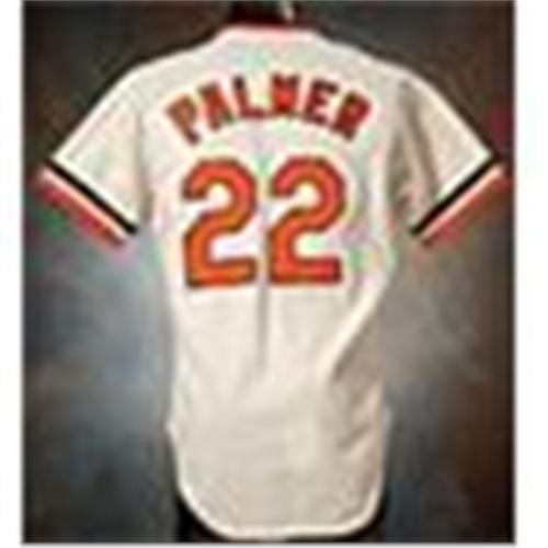 fe0d3025b Image 1   Circa 1978 Jim Palmer Baltimore Orioles Game-Used Home Jersey    Cap