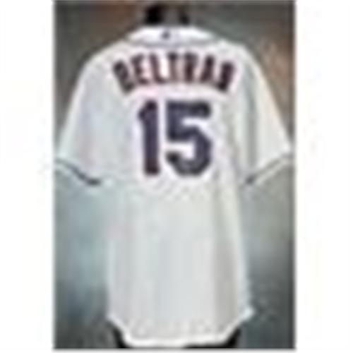 2006 Carlos Beltran New York Mets Game Used Home White