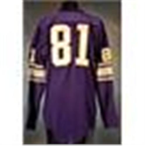 timeless design e3f6b 3ee57 Mid 1960s Carl Eller Minnesota Vikings Game-Used Purple ...