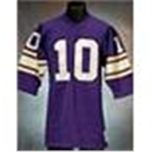 more photos 3625d 0e0b1 Late 1970s Fran Tarkenton Minnesota Vikings Game-Used ...
