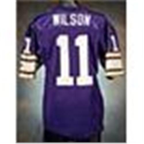 check out eafc9 11f51 1991 Wade Wilson Minnesota Vikings Game-Used Purple ...