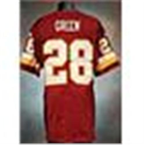 2001 Darrell Green Washington Redskins Game Used Burgundy