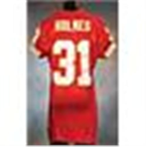 2002 Priest Holmes Kansas City Chiefs Game Used Red Mesh Jersey