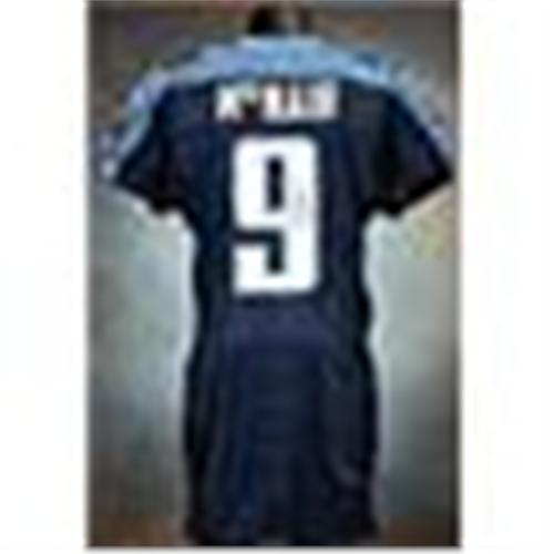 competitive price a3e90 18248 2003 Steve McNair Tennessee Titans Game-Used ...