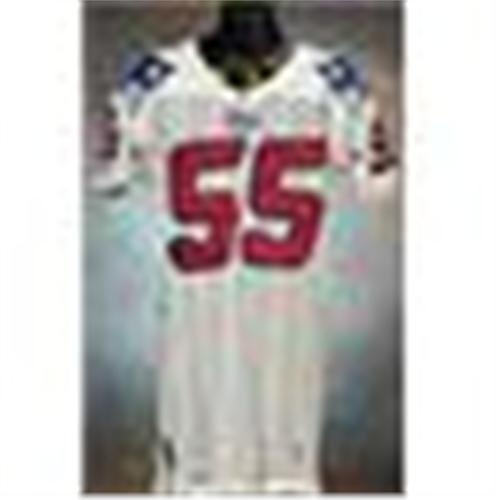 1996 Willie McGinist New England Patriots Game Used White Mesh