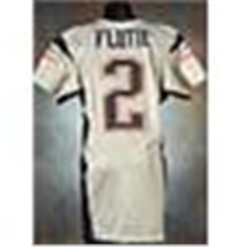 2005 Doug Flutie New England Patriots Game Used Silver Alternate