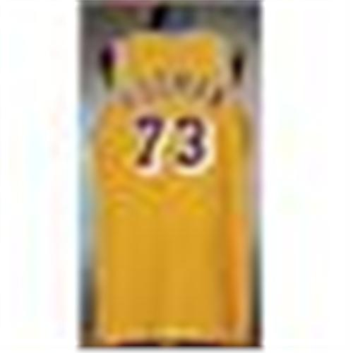 new styles 85dc5 ab8a1 1998-99 Dennis Rodman Los Angeles Lakers Game-Used ...