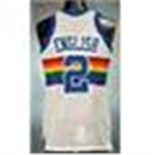 the best attitude cbb9a 10c9d Early 1980s Alex English Denver Nuggets Game-Used Home ...