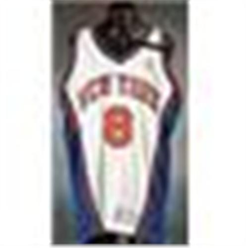 new arrival d0671 4ed73 1998-99 Latrell Sprewell New York Knicks Game-Used Home ...