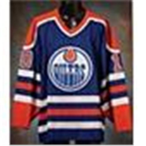 free shipping dc593 95e12 1989-90 Esa Tikkanen Edmonton Oilers Game-Used Road ...