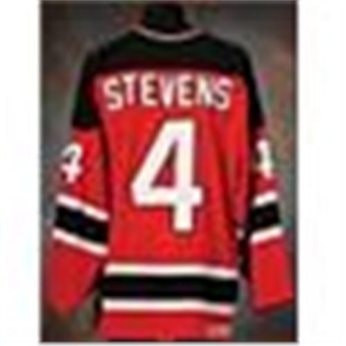 wholesale dealer 8950c 065ed 1996-97 Scott Stevens New Jersey Devils Game-Used Air ...