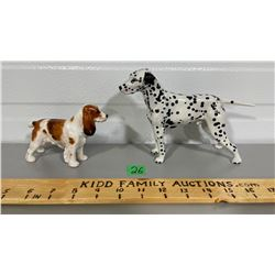 LOT OF TWO ROYAL DOULTON DOGS